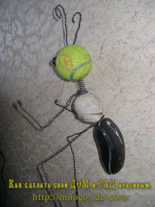 Как сделать муравьев своими руками