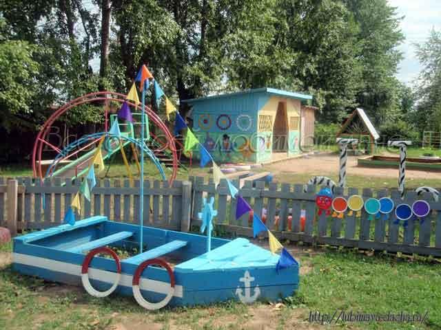 Детские поделки на площадку в детский сад своими руками фото 111