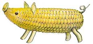 Поделки из кукурузы своими руками фото